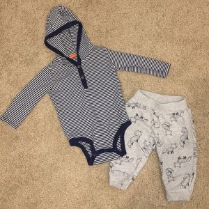 Just one you made by Carter's baby boy outfit